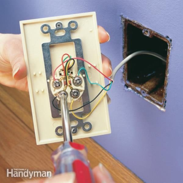 telephone wall socket wiring diagram car battery wiring