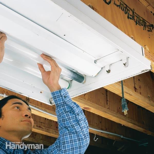 4 Bulb Fluorescent Light Fixture Wiring