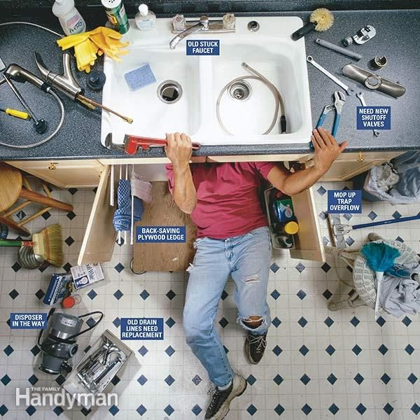 https www familyhandyman com project how to replace a kitchen faucet