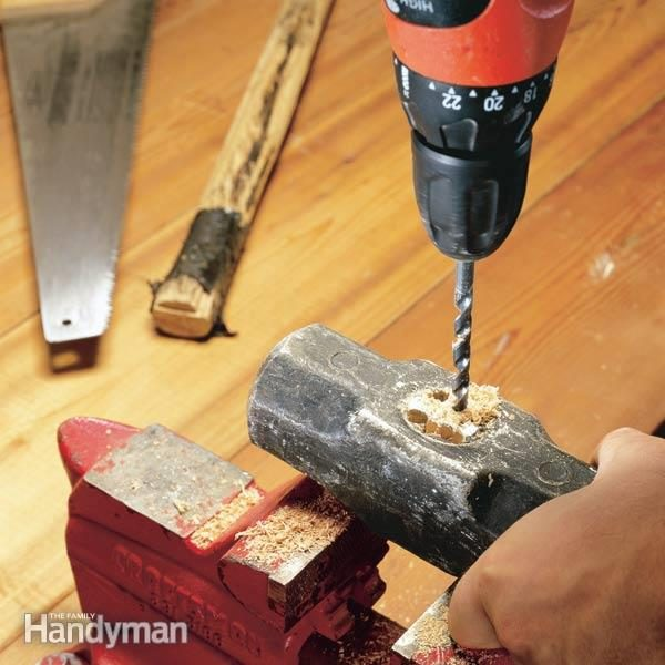 Replace a Maul Handle or Other Striking Tool Handle  The