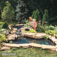How to Build a Water Garden Stream