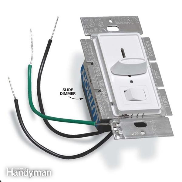 dimming switch wiring diagram nj straight line dimmable data how to install a dimmer light the family handyman 1 way
