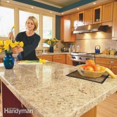 Tile For Kitchen Countertops Bar Table How To Install Granite The Family