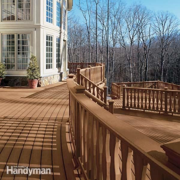 LowMaintenance Decks  Family Handyman  The Family Handyman