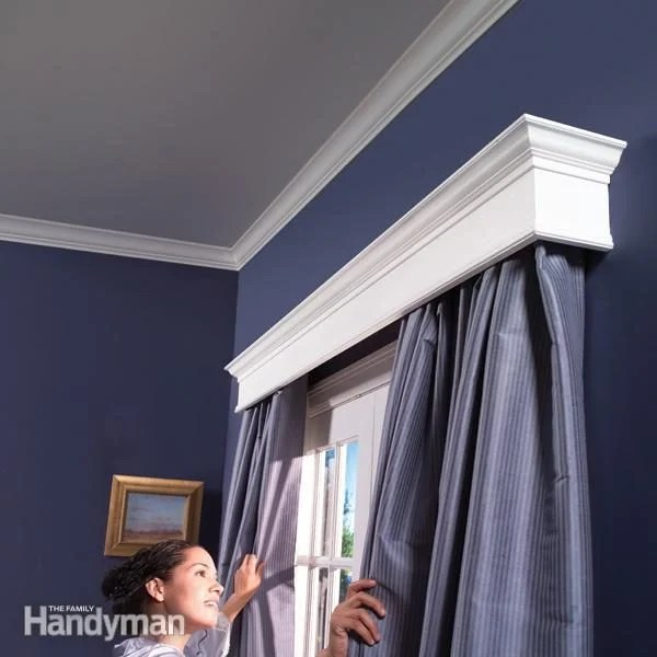 how to build window cornices diy