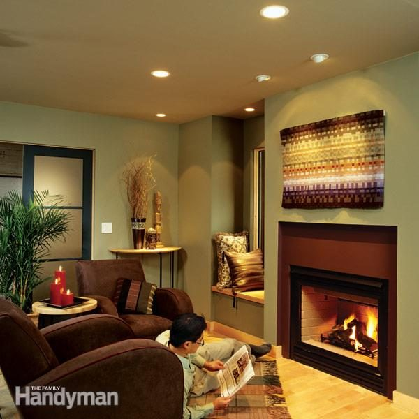living room recessed lighting decoration themes for installing dramatic effect the family handyman