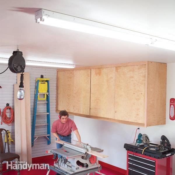 Wiring Fluorescent Fixture Ridgid Plumbing Woodworking And Power