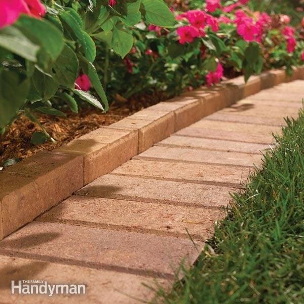 garden lawn edging ideas and install