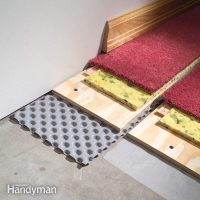 How to Carpet a Basement Floor | The Family Handyman