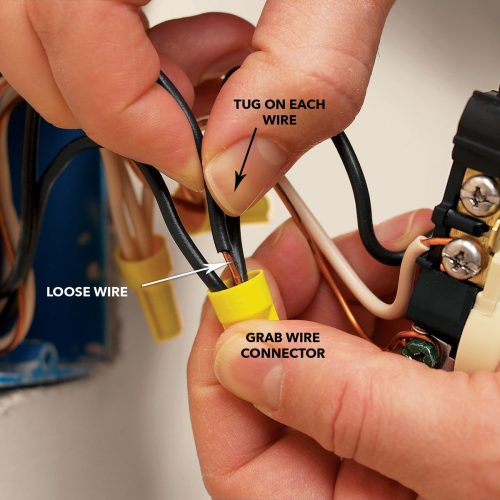 small resolution of tug wires at connectors