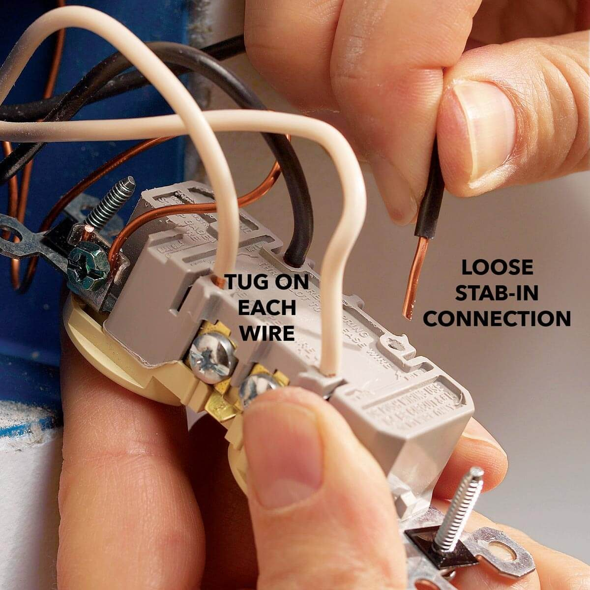 hight resolution of wiring an outlet