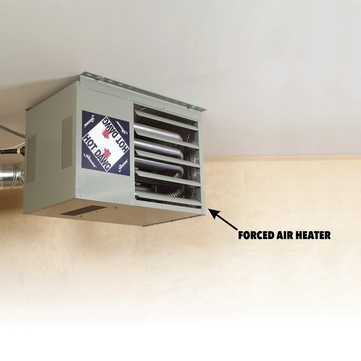 hight resolution of forced air heater