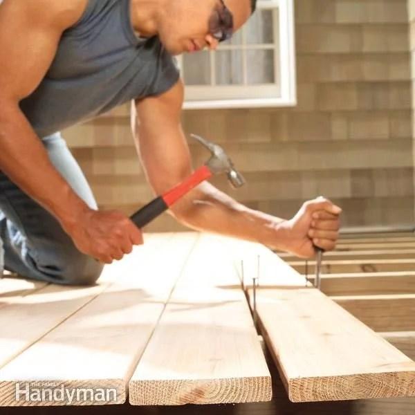 Deck Board Spacing Code