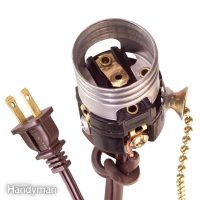 How to Wire a Light Socket   The Family Handyman