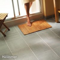 How to Lay Tile: Install a Ceramic Tile Floor In the ...