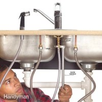 How to Fix a Leaking Sink Sprayer | The Family Handyman