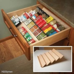 Kitchen Cabinets Storage Wood Floors In The Family Handyman Clever Cabinet Pantry Ideas