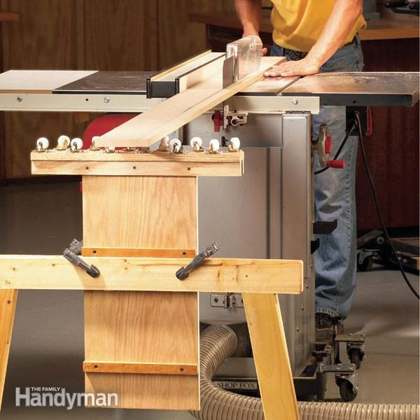 Jointer Outfeed Table