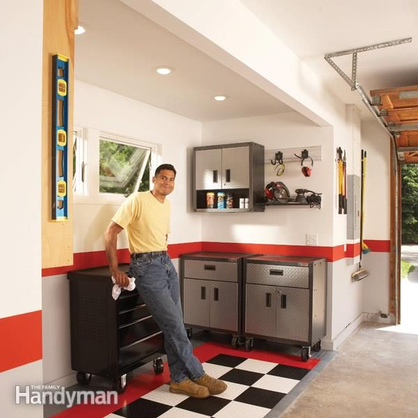 Get More Garage Storage With A Bump Out Addition Family Handyman