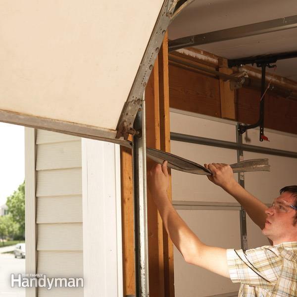 wiring diagram house to shed 2000 gmc yukon denali radio fixing garage door bottom seal — the family handyman