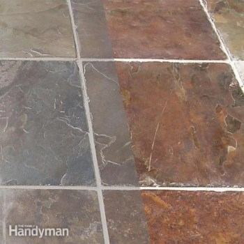 remove grout haze from stone tile diy