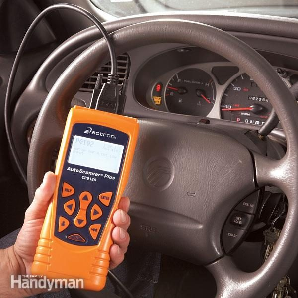 Using a Diagnostic Car Code Reader  The Family Handyman