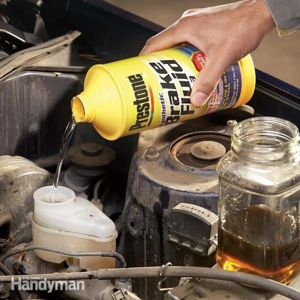 Changing Brake Fluid  The Family Handyman