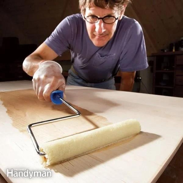 Applying Water Based Polyurethane With Foam Brush