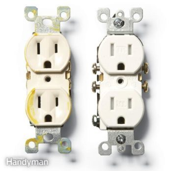 double outlet wiring diagram computer how to install gfci receptacle outlets the family handyman a tamper resistant