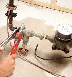 home repair how to replace the main shut off valve the family handyman [ 1200 x 1200 Pixel ]