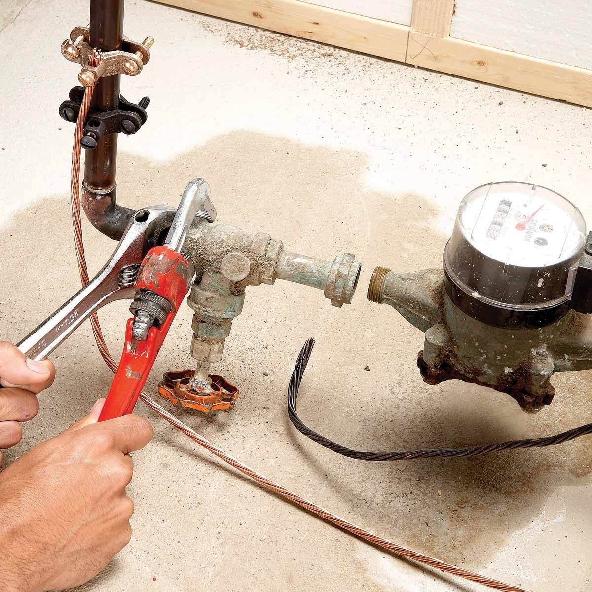 hight resolution of home repair how to replace the main shut off valve the family handyman