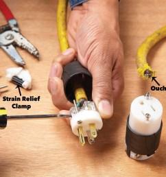 extension cord repair [ 1200 x 1200 Pixel ]