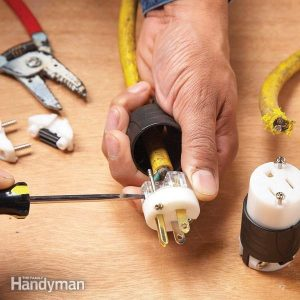How to Repair a Cut Extension Cord | Family Handyman