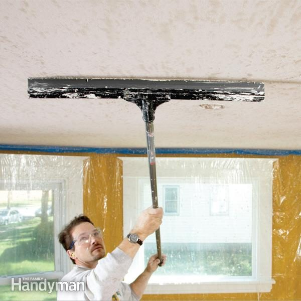 How to Apply Knock Down Wall Texture  The Family Handyman