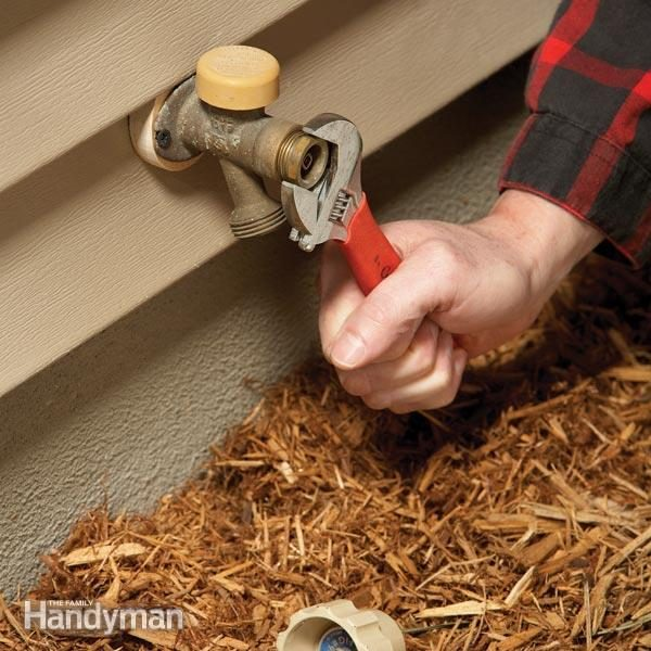 Outdoor Faucet Repair Fix a Noisy Faucet  The Family