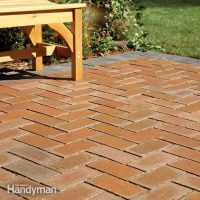 How to Cover a Concrete Patio With Pavers | The Family ...