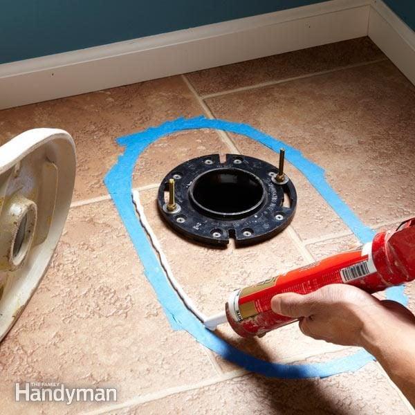 How to Caulk a Toilet to a Floor