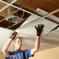 Drop Ceiling Tiles Installation Tips | The Family Handyman