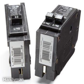 30 Amp Split Breaker Wiring Diagram Breaker Box The Family Handyman