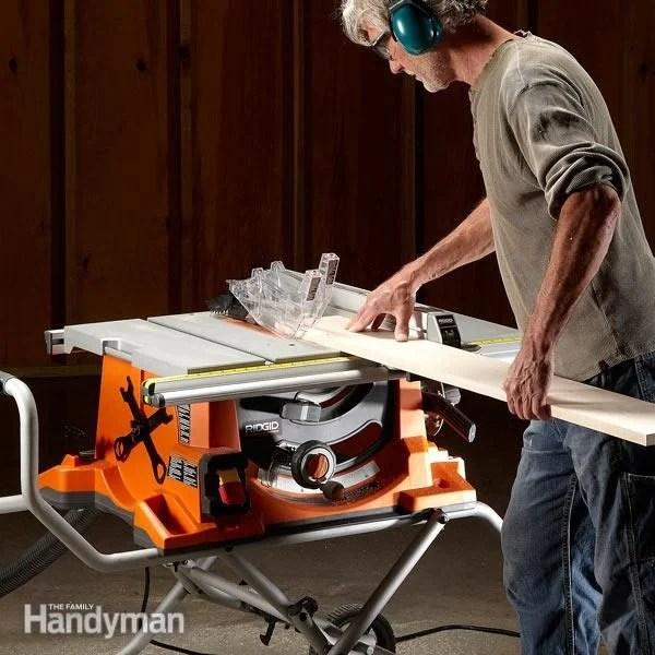 Change Table Saw Blade Craftsman
