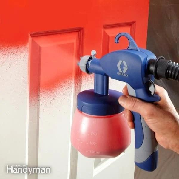 Hvlp Spray Gun For Latex