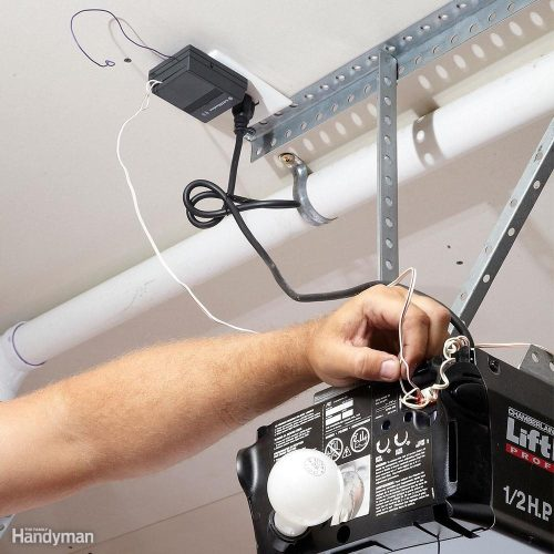 small resolution of do your own garage door opener repair and troubleshooting the family handyman