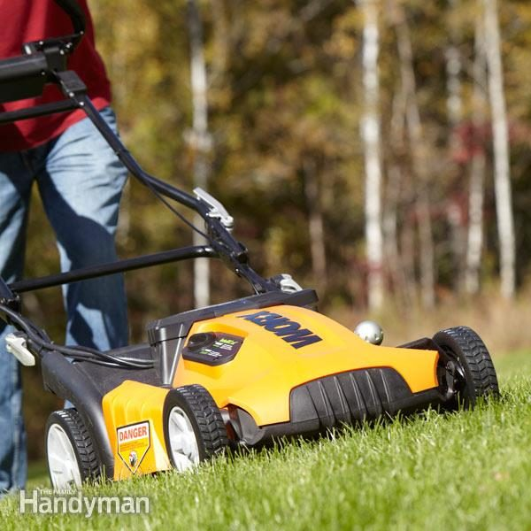 cordless electric lawn mower best electric lawn mower