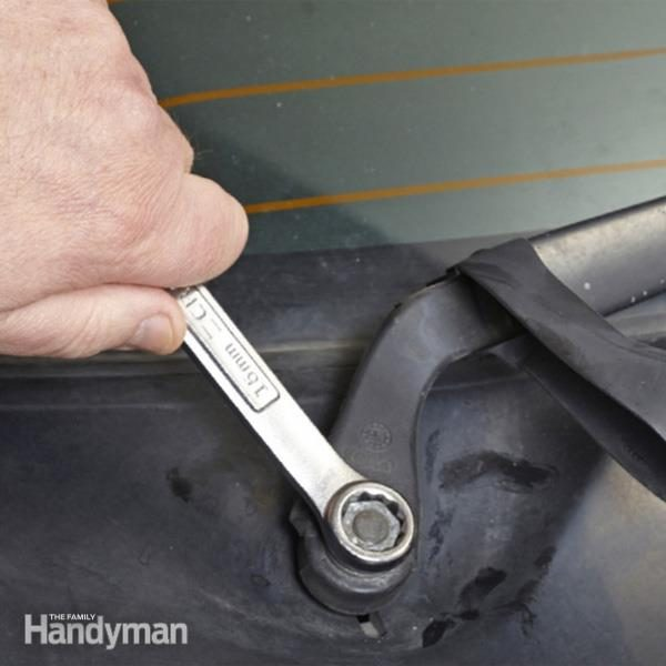 2013 Nissan Frontier Trailer Wiring How To Replace Windshield Wiper Arm The Family Handyman
