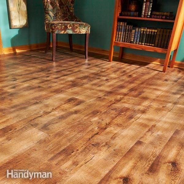 How To Install Luxury Vinyl Plank Flooring The Family