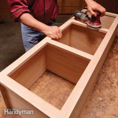How To Make Kitchen Cabinets Wall Mounted Face Frame Cabinet Plans And Building Tips The Family Handyman Build