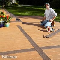 How to Build a Deck Over a Concrete Patio   The Family ...