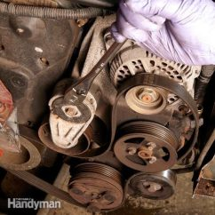 1997 Honda Civic Exhaust System Diagram Wiring 12 Volt Solar Changing A Car Serpentine Belt: Diy Belt Replacement | The Family Handyman