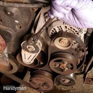 Changing a Car Serpentine Belt: DIY Car Serpentine Belt