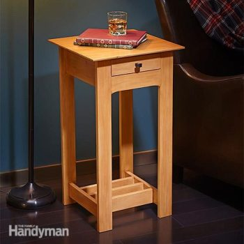 simple rennie mackintosh end table